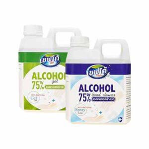 แอลกอฮอล์ล้างมือ 1000 ml.